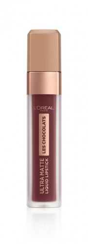 Poze Ruj lichid mat L'Oreal Paris Ultra Matte Les Chocolats 868 Cacao Crush - 7.6 ml