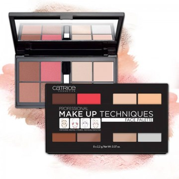Trusa Catrice Professional Make Up Techniques Face Palette 010