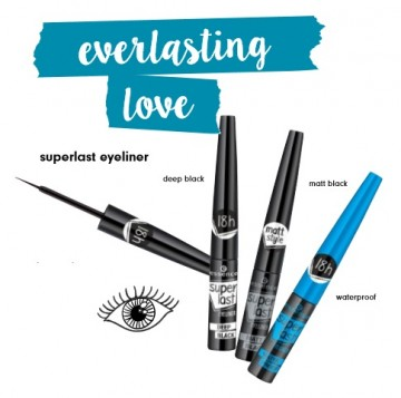Tus de ochi Essence superlast eyeliner deep black