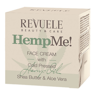 Crema de fata Revuele Hemp Me face cream 50ml
