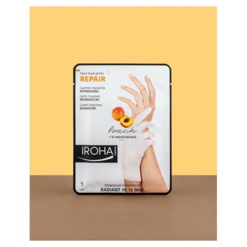 Crema de maini Iroha Hand Mask Gloves Repair Peach