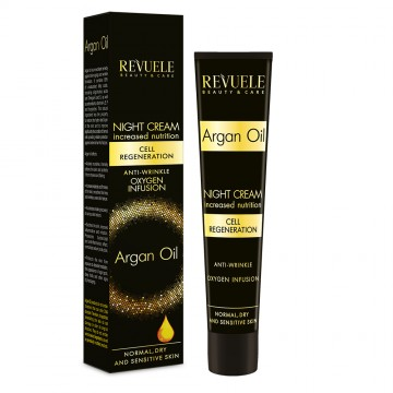 Poze Crema de noapte cu ulei de argan Revuele Revuele Argan Oil Night Cream 50 ml