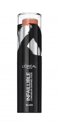 Fard de obraz stick L'Oreal Paris Infaillible Shaping Stick 002 Nude in Rose - 9g