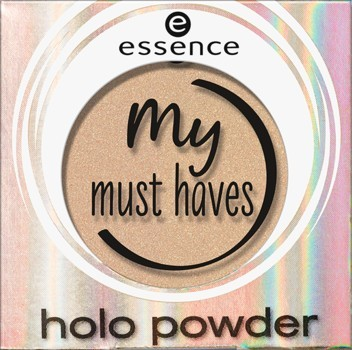 Fard de ochi Essence my must haves holo powder 01 Honestly me