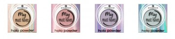 Poze Fard de ochi Essence my must haves holo powder 04 Mint muse