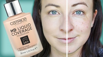 Poze Fond de ten Catrice HD Liquid Coverage Foundation 040
