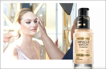 Poze Fond de ten Max Factor Miracle Match 45 Warm Almond