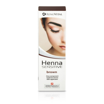 Poze Henna Vopsea Crema pentru sprancene, 6g