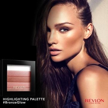 Iluminator Revlon  Highlighting Palette Rose Glow 020
