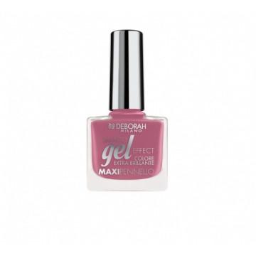 Lac de unghii Deborah Gel Effect Nail Polish Ultra Glossy 124 Mauve Jelly