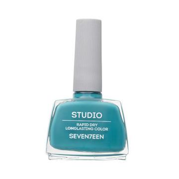 Lac de unghii Seventeen STUDIO RAPID DRY LASTING COLOR No 63 Turquoise