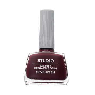 Lac de unghii Seventeen STUDIO RAPID DRY LASTING COLOR No 78 Plum Brown
