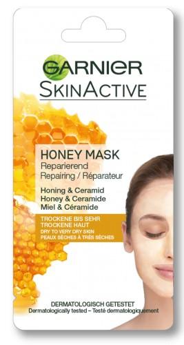 Poze Masca de fata pentru repararea tenului Garnier cu miere, pentru tenul uscat si foarte uscat 8 ml