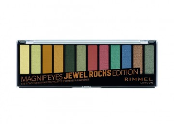 Paleta farduri de ochi Rimmel MagnifEyes Palette Jewel Rocks Edition 009
