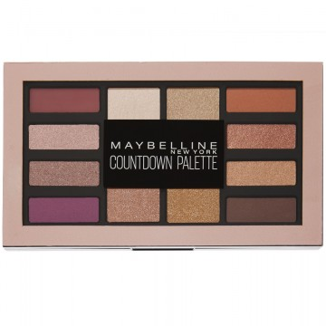 Paleta farduri de pleoape Maybelline New York Countdown Palette - 12 g