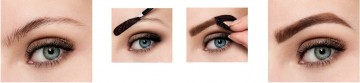 Poze Produs de colorare a sprancenelor Maybelline New York Brow Tattoo Medium Brown 4.6g