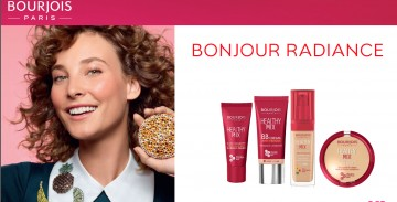 Pudra compacta Bourjois  Healthy Mix 002 Beige Clair 11 g
