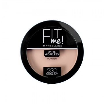 Poze Pudra compacta matifianta Maybelline New York Fit Me Matte & Poreless 230 Natural Buff 14g