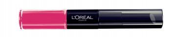 Poze Ruj lichid, rezistent la transfer, L'Oreal Paris Infallible Long Lasting,121 Flawless Fuchsia