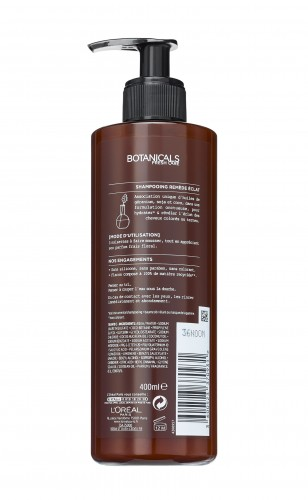 Sampon stralucire intensa Botanicals Fresh Care cu ulei de muscata pentru par vopsit sau tern 400 ml
