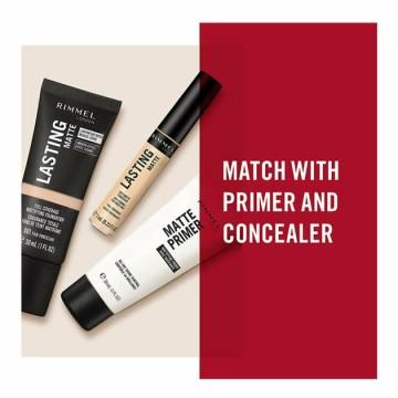 Anticearcan Rimmel LASTING MATTE liquid concealer - 015 True Ivory