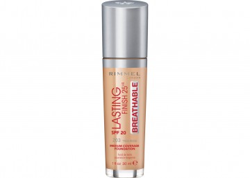 Poze Fond de ten Rimmel Lasting Finish Breathable 203 30ml
