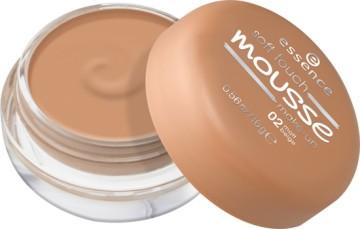 Fond de ten spuma Essence soft touch mousse make-up 02 Matt Beige 16gr