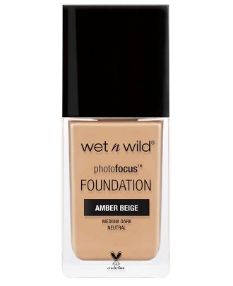 Poze Fond de ten Wet n Wild  Photo Focus Foundation 373 Amber Beige