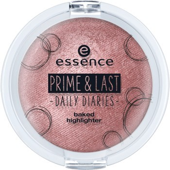 Poze Iluminator Essence prime & last -daily diaries- baked highlighter 01