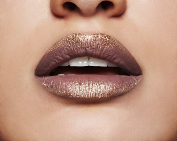 Kit pentru buze Maybelline New York Lip Python 40 Fatal - 1.2 g ruj; 1.5 g fard metalizat