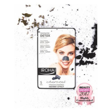 Masca Iroha Cleansing Strips Detox Blackheads Charcoal for Nose