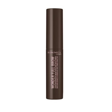 Mascara pentru sprancene RIMMEL WONDER'FULL 24H brow mascara 003 Dark
