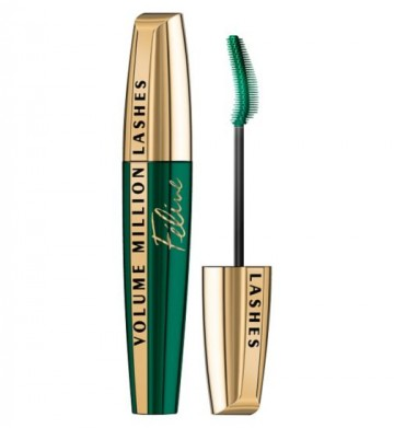 Poze Mascara volum si curbare L'Oreal Paris Volume Million Lashes Feline BLACK 9.2ml