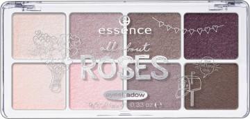Poze Paleta farduri de pleoape Essence All About Roses eyeshadow 03 Roses 9,5 gr