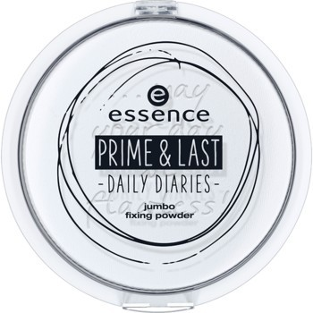 Poze Pudra compacta Essence prime & last -daily diaries- jumbo fixing powder 01