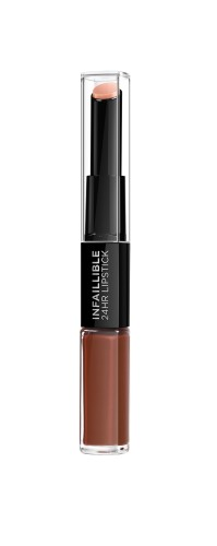 Ruj lichid rezistent la transfer L'Oreal Paris Infaillible 24H Lipstick  117 Perpetual Bro -5.6 ml