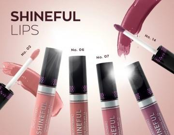 Ruj lichid Seventeen Shineful Liquid Color No 2