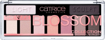Poze Trusa Catrice The Nude Blossom Collection Eyeshadow Palette 010