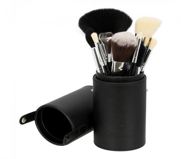 Poze Boozy Cosmetics Oval Brush Cup Holder Black