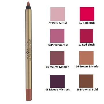 Creion de buze  Max Factor Colour Elixir Lip Liner 8 MAUVE MISTRESS