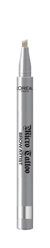 Creion de sprancene cu varf tip carioca L'Oreal Paris Brow Artist Micro Tattoo 101 Blond - 5 g