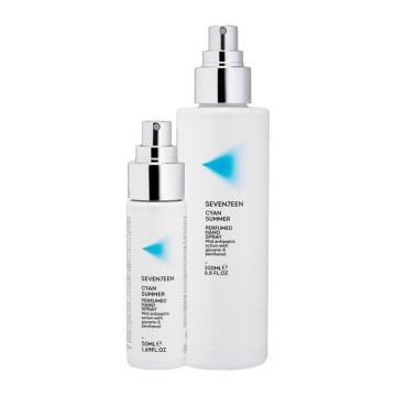 Dezinfectant parfumat Seventeen CYAN SUMMER PERFUMED HAND SPRAY 50 ML