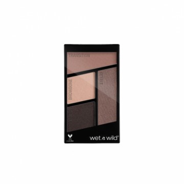 Fard de ochi Wet n Wild Color Icon Eyeshadow Quads - Silent Treatment