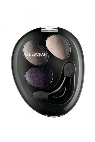 Fard de pleoape Deborah Trio Hi-Tech Eyeshadow 05 Rose Elegance, 2.2 g