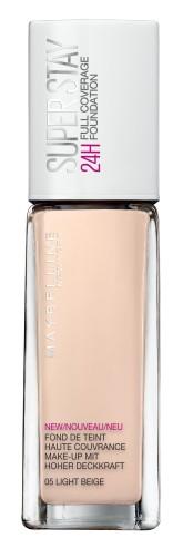 Poze Fond de ten lichid Maybelline New York Superstay 24H cu acoperire ridicata 05 Light Beige 30ml