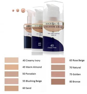 Fond de ten Max Factor Colour Adapt 70 Natural