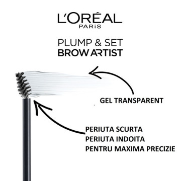Poze L'Oreal Paris Brow Artist Plumper mascara pentru sprancene 000, transparent, 7ml