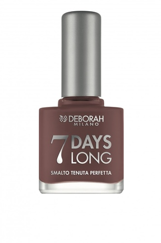 "Lac de unghii Deborah ""7 Days Long"" 866 Light brown, 11 ml"