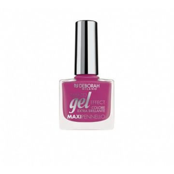 Lac de unghii Deborah Gel Effect Nail Polish Ultra Glossy 125 Fuchsia Jelly