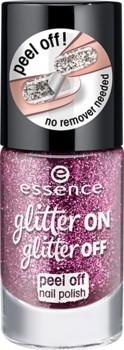 Lac de unghii Essence glitter on glitter off peel off nail polish 03